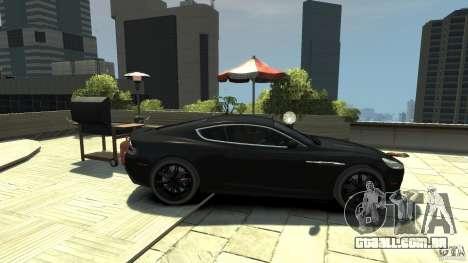 Aston Martin DBS v 1.1 matizado para GTA 4 esquerda vista