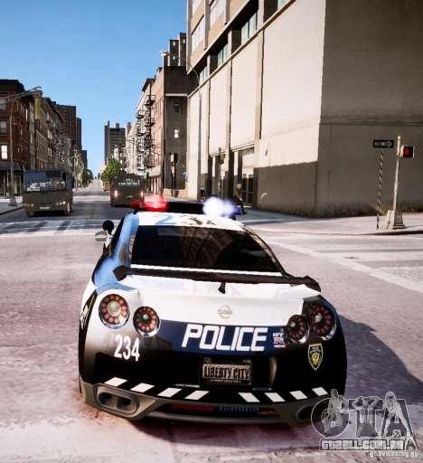 Nissan Spec GT-R Enforcer para GTA 4 vista lateral
