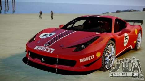 Ferrari 458 Challenge 2011 para GTA 4