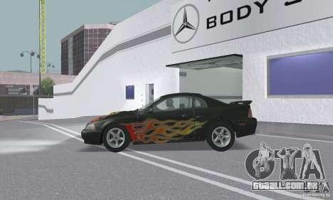Ford Mustang GT 2003 para o motor de GTA San Andreas