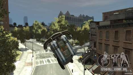 Jetpack para GTA 4 esquerda vista