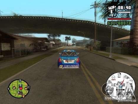 Um velocímetro original com MEMES para GTA San Andreas terceira tela
