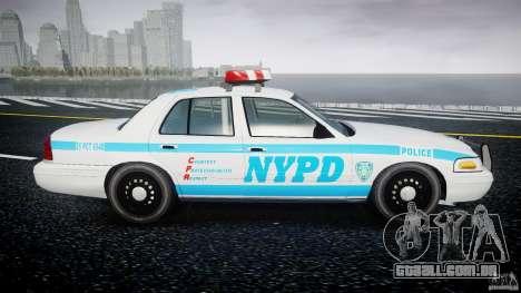 Ford Crown Victoria 2003 v.2 Police para GTA 4 vista interior
