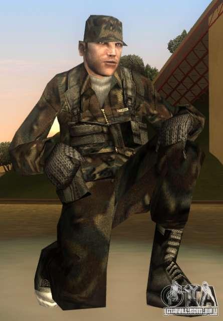 HQ skin Army para GTA San Andreas