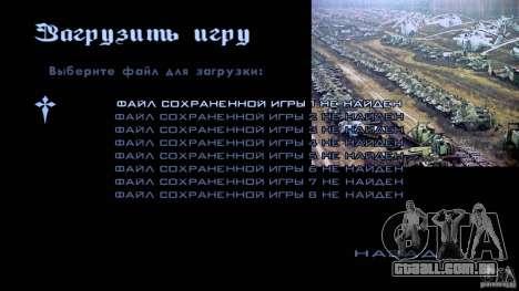 Telas de carregamento Chernobyl para GTA San Andreas nono tela