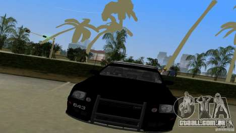Saleen S281 Barricade 2007 para GTA Vice City vista traseira esquerda