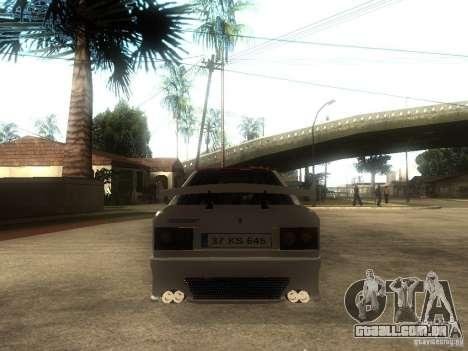 Renault 9 GTD para GTA San Andreas traseira esquerda vista