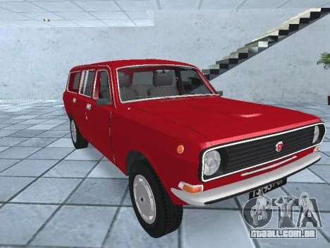 GAZ 24-12 v 2. para GTA San Andreas vista traseira