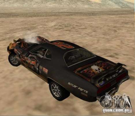 Bullet from FlatOut 2 para GTA San Andreas vista direita
