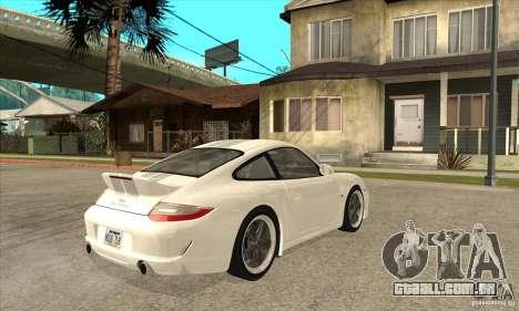 Porsche 911 Sport Classic para GTA San Andreas vista direita