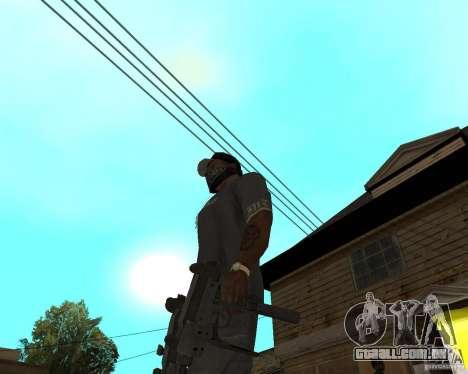 Mini-Uzi para GTA San Andreas terceira tela