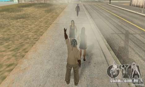 SuperClon (clonagem pessoas em SAN ANDREAS) para GTA San Andreas por diante tela
