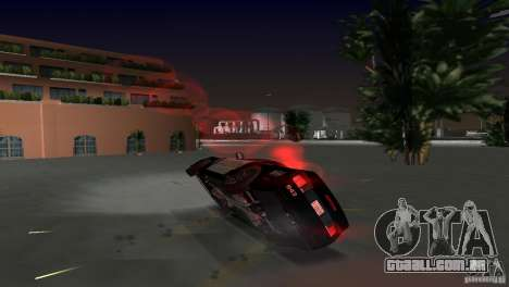 Saleen S281 Barricade 2007 para GTA Vice City vista lateral