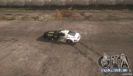 Ford Mustang Monster Energy para GTA San Andreas vista direita