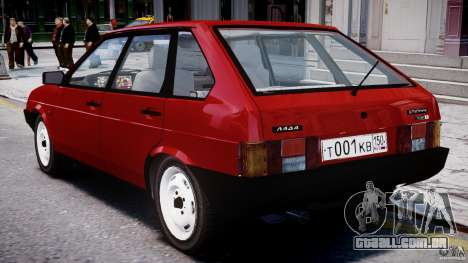 Vaz-21093i para GTA 4 vista direita