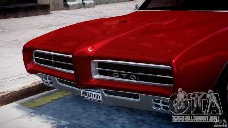 Pontiac GTO 1965 v1.1 para GTA 4 rodas