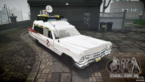Cadillac Ghostbusters para GTA 4 vista direita