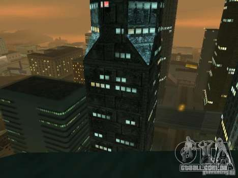 Novas texturas arranha-céus LS para GTA San Andreas quinto tela