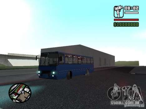Ikarus 260.51 para GTA San Andreas vista interior