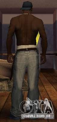 Novo jeans para CJ para GTA San Andreas segunda tela