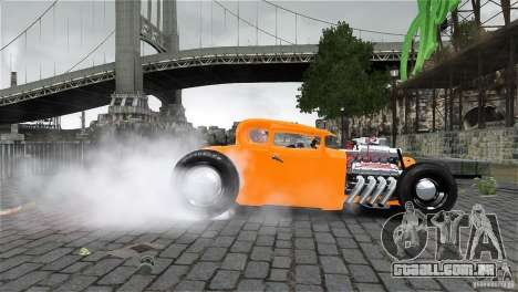Smith 34 Hot-Rod Restyling para GTA 4 esquerda vista