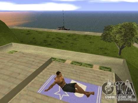 Esteira do resto para GTA San Andreas por diante tela