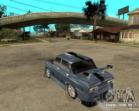 AZLK 2140 SX-sintonizado para GTA San Andreas esquerda vista