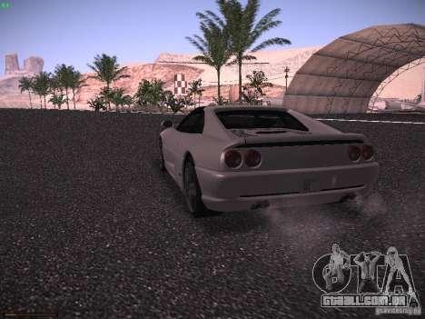 Ferrari F355 Targa para GTA San Andreas vista direita