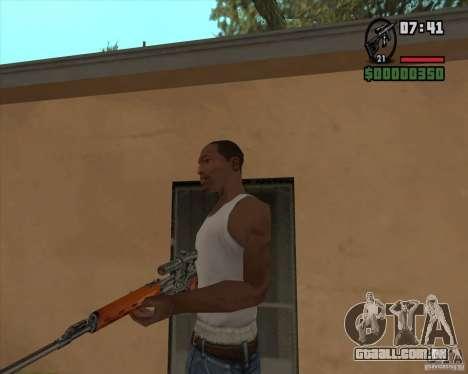 SVD para GTA San Andreas segunda tela