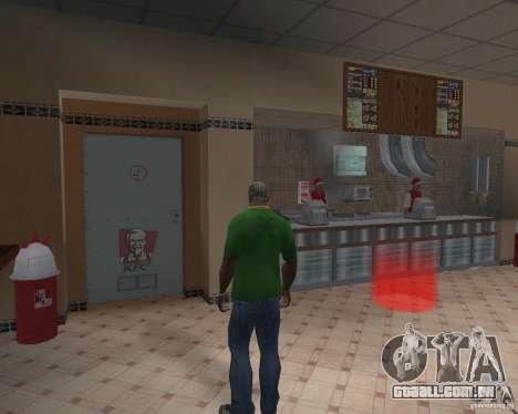 Novas texturas de restaurantes e lojas para GTA San Andreas segunda tela