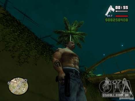 Carbon Desert Eagle para GTA San Andreas terceira tela