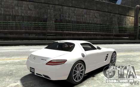Mercedes-Benz SLS AMG 2011 v3.0 para GTA 4 vista direita