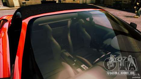 Ferrari 430 Spyder v1.5 para GTA 4 vista superior