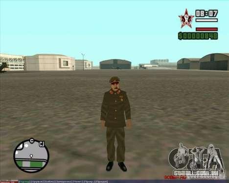 Stalin para GTA San Andreas por diante tela