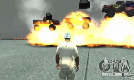 A bomba atômica para GTA San Andreas terceira tela