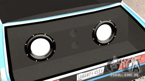 Tofas Dogan SLX EmreAKIN Edition para GTA 4 vista superior