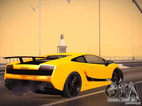 Orange ENB by NF v1 para GTA San Andreas segunda tela