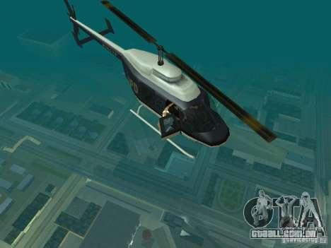 Helicopter Grab v1.0 para GTA San Andreas segunda tela
