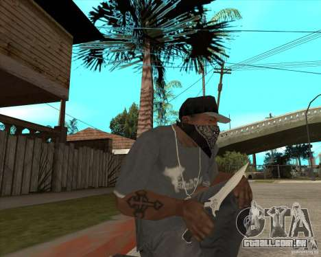 Resident Evil 4 weapon pack para GTA San Andreas quinto tela