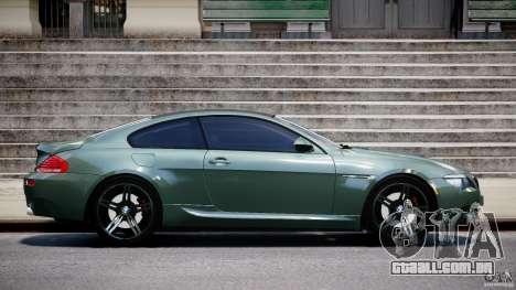 BMW M6 2010 v1.5 para GTA 4 esquerda vista