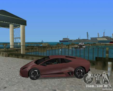 Lamborghini Reventon para GTA Vice City vista direita