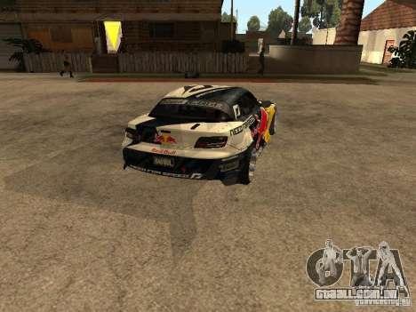 Mazda RX-8 RedBull para GTA San Andreas traseira esquerda vista