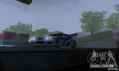 ENB Reflection Bump 2 Low Settings para GTA San Andreas oitavo tela