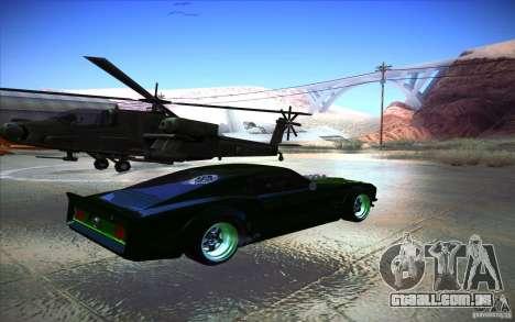 Ford Mustang RTR Drift para GTA San Andreas vista direita