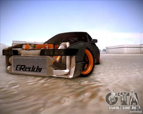Nissan Silvia S13 Under Construction para GTA San Andreas vista superior