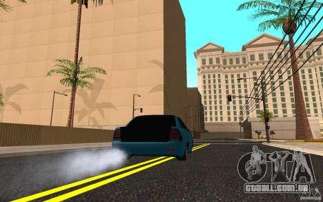 LADA 2170 Penza tuning para GTA San Andreas vista direita