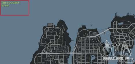 The Loggers Point para GTA 4 décima primeira imagem de tela