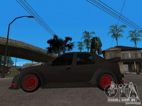Dacia Logan Tuned para GTA San Andreas