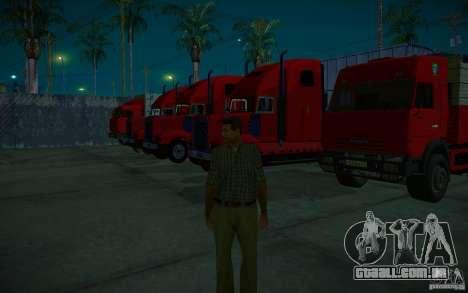 ENBSeries v. 1.0 por GAZelist para GTA San Andreas décima primeira imagem de tela