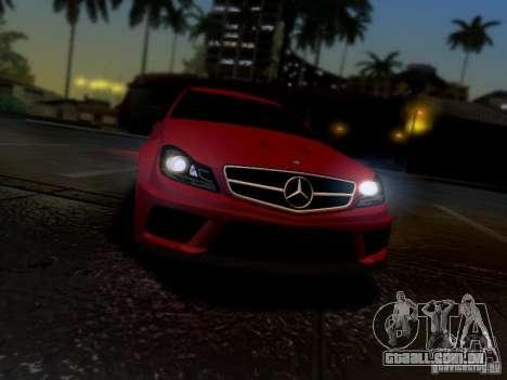 Mercedes Benz C63 AMG C204 Black Series V1.0 para GTA San Andreas vista direita